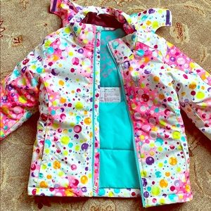 Jackets & Blazers - Girls/Kids Spider ski jacket. Size 7.